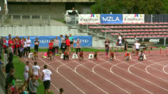 Dziewczęta U14 w biegu na 100m