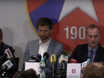 Konferencja prasowa TS Wisła
