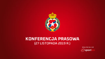 Wisła Kraków – konferencja prasowa 27 listopada