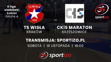 II liga siatkówki kobiet: TS Wisła Kraków – CKiS Maraton Krzeszowice