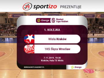 EBLK: Wisła Kraków – 1KS Ślęza Wrocław