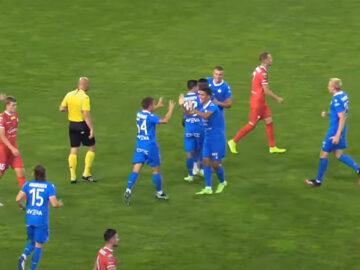 Yaw Yeboah zdobył gola dla Wisły w sparingu z Podbeskidziem